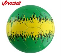 2016PVC soccer ball size 5 training balls OEM color for adults(China)