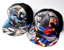 2017 Adult Baseball Cap Fashion Iron Man batman superman Captain One Piece Snapback Caps Hip Hop Hat Sun hat(China)