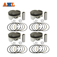 AHL 4 Sets STD Bore Size 75mm Piston & Rings For HONDA CBR1000 CBR1000RR 2004-2007(China)