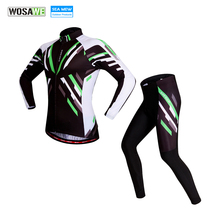 Buy WOSAWE Breathable cycling jersey 2017 Spring ropa ciclismo mtb bike Clothes Long Sleeve cycling clothing sport Jersey Set for $29.95 in AliExpress store