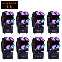 Wholesales Price 8 Pack 90W Led Beam Moving Head Light Spider Scanner Double Rotate Tilt Arm Cheap Price Random Running CE ROHS