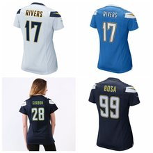 Women's Joey Bosa Melvin Gordon Philip Rivers jerseys(China)