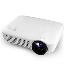 VS627 LCD Projector 1280*800 Audio In,Audio Out Port,HDMI,RF,SD Card Slot,USB,VGA Led Protable projector 150W Max 300 inch