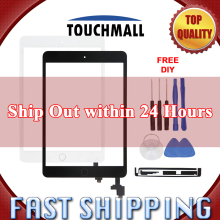 New Touch Screen + 홈 Button + IC 칩 + 카메라 Holder 대 한 iPad Mini 1 A1432 A1454 A1455 Mini 2 A1489 A1490 A1491 Black White + Tools(China)