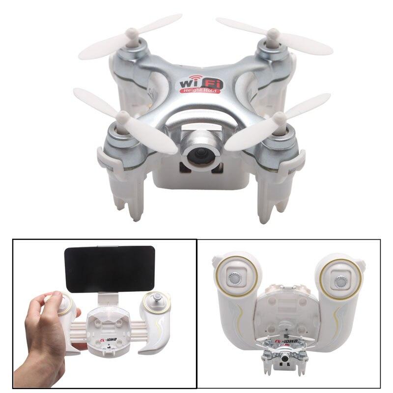 Cheerson CX-10WD-TX Mini Wifi FPV High Hold 0.3MP Camera RC Quadcopter + Remote-P101<br>