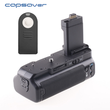 capsaver Vertical Battery Grip Holder for Canon 450D 500D 1000D Rebel XS XSi T1i Replacement for BG-E5 with IR Remote Control(China)