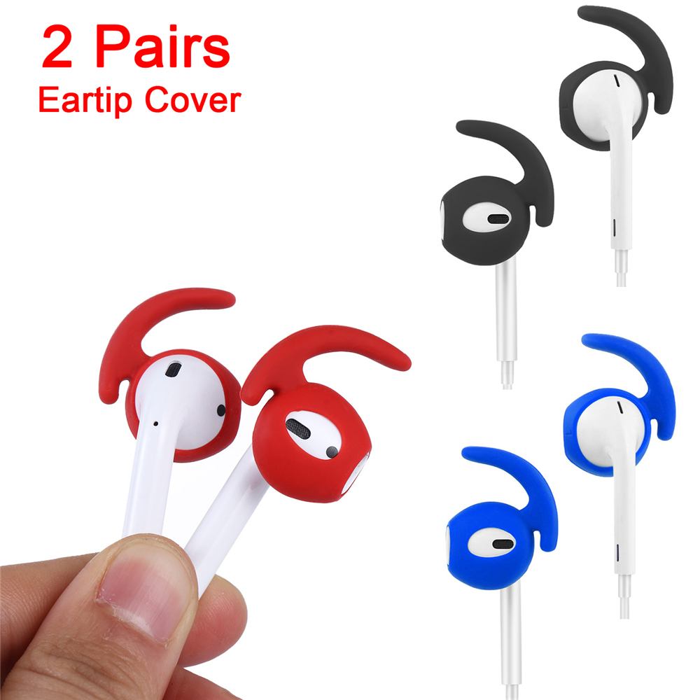 Earphone Case for Apple Airpods Case Soft Silicone Antislip Ear Hook Earbuds  BE