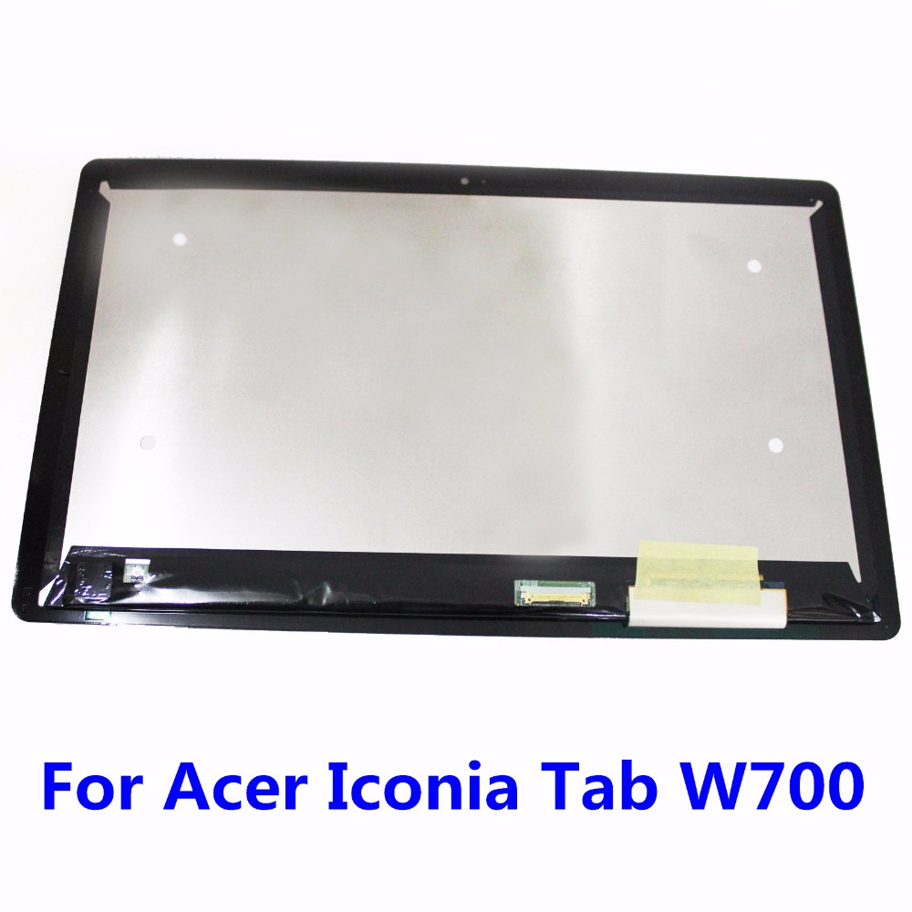 11.6 For Acer Iconia Tab W700 B116HAT03.1 Digitizer Touch Screen Glass Sensor + LCD Display Panel Screen Monitor LCD Assembly<br>