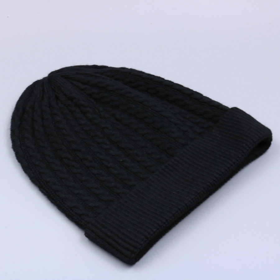 Women's Winter Hat Knitted Wool beanies Skullies Female Causal Mask Ski Thicker Warm Pompon Hats For Women  (13)