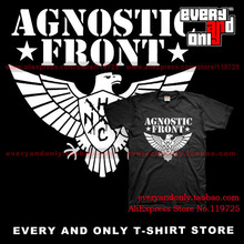 Agnostic Front band Eagle 100% Cotton T-shirt Tee  T