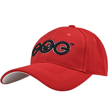 2017 New Brand Red GOG golf Caps Professional cotton golf ball cap High Quality sports golf hat