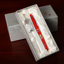 Engraved With Bamboo Metal Bookmarks And Peking Opera Face Pen To Buy 2 Sets To Give Discounts TQH064-3-102(China)