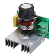 Micro 3800W AC Transfor Voltage Regulator 220V SCR Dimmer Speed Controller Temperature Governor Power Monitor Dimming Monitor(China)