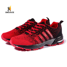 Men's Sports Shoes Running Shoes Anti-skid Breathable Lace-up Outdoor Sports Shoes More Color