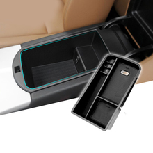 ABS Car central store content box  car accessories For BMW covers X3 X4 F25 F26 2014 2015