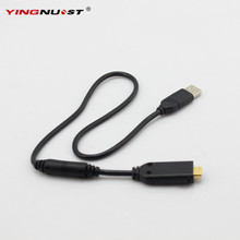 YINGNUOST 0.5m USB Digital Camera Cable High Speed USB 2.0 Data Cable for Samsung SUC-C4 NV24HD NV100HD TL34HD Black(China)