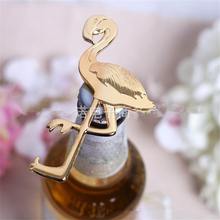 1pc Metal Flamingo Opener DIY Anniversary Celebration Gift Wedding Decoration Party Christmas Gifts Kitchen Bar Supplies. J