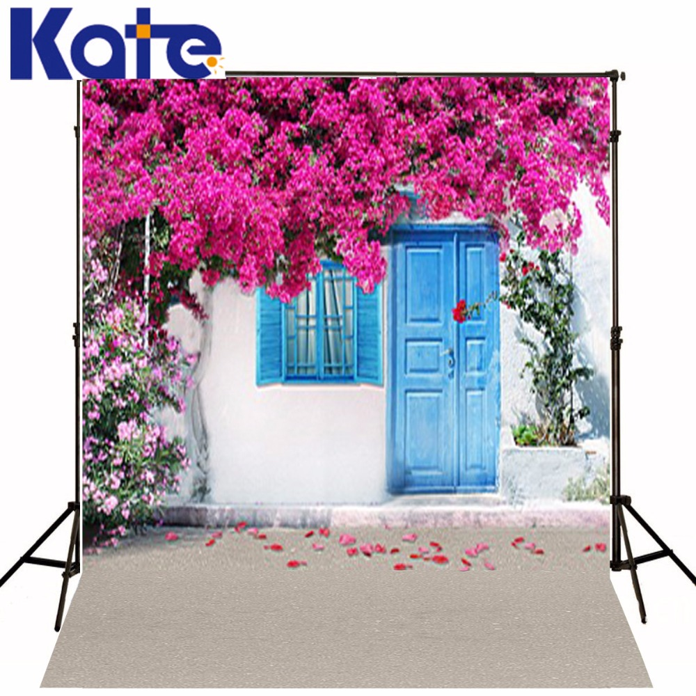 300Cm*200Cm(About 10Ft*6.5Ft) Backgroundsroof Covered With Flowers Photography Backdropsthick Cloth Photography Backdrop 3540 Lk<br>