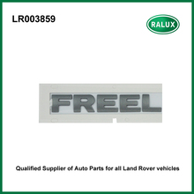 Car rear brand letter stickers silver color for FREELANDER 2 LR003859 car rear name plate auto exterior accessories supplier(China)