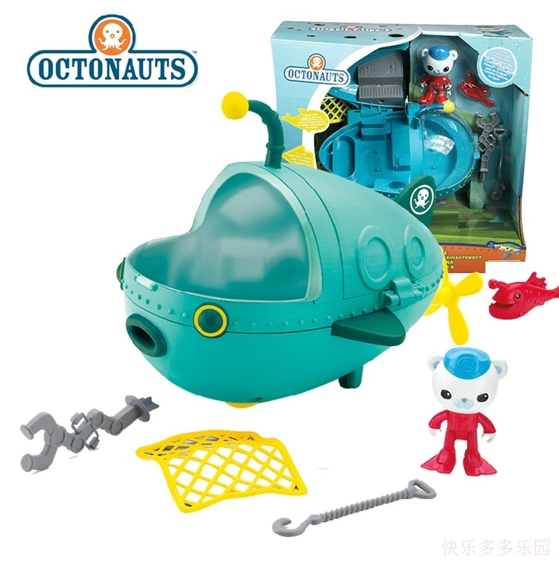original NEW STYLE  Octonauts GUP-A Barnacles resure explore vehicle figures toy birthday gift - child Toys<br>