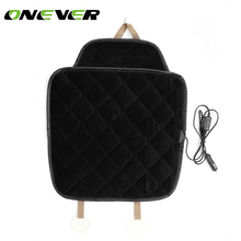 Onever Carbon fiber car seat heater car seat heater car seat 12V warm winter electric heating pad cushion(China)
