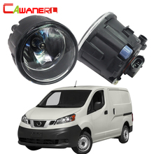 Cawanerl 2 Pieces 100W Car Accessories Halogen Fog Light Daytime Running Lamp DRL 12V For Nissan NV200 M20 M20M 2010-2015(China)