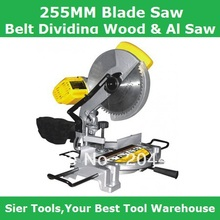 255mm Blade Sawing Machine/Belt Driving Wood&Al Sawing Machine/Delivery By Fedex,UPS or DHL(China)