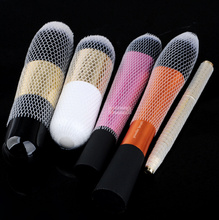20pcs makeup brushes net Protector Guard Elastic Mesh Beauty Make Up Cosmetic Brush pen Cover(China)