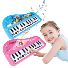 Cartoon pattern Keyboard Electronic organ musical instrument toys game learning(China)
