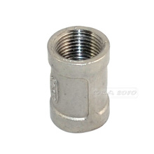 "High Quality 3/8"" Female x 3/8"" Female Couple Stainless Steel SS 304 Threaded Pipe Fittings New"