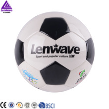 5 Size Soccer / Bright Smooth Leather White PU Football Ball  # 2016 European Cup Live Football Game
