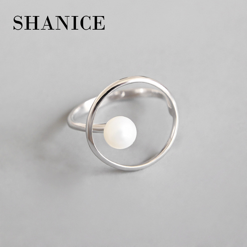 Ring-Bead Finger-Rings Minimalist Jewelry Open Geometric Christmas-Gift Party SHANICE title=