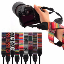 2017 Hot  Camera Accessories Vintage Strape Hippie Durable Cotton Camera Strap For Canon For Nikon For Pentax For Sony SLR DSLR