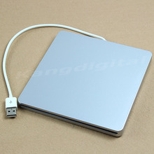 External 9.5mm USB2.0 Super Slot Slim in DVD-RW Case For Macbook Laptop