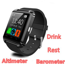 Bluetooth Smart Watch M8 Altimeter Barometer Drink Clock Wrist Watches Passometer Smartwatch FOR IOS Android Phone(China)