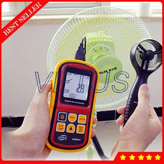 GM8901 Anemometer Wind Speed Sensor with Air velocity instrument range 0~45 m/s<br><br>Aliexpress