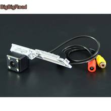 BigBigRoad For Brilliance V5 Car Rear View Reverse Backup Camera HD CCD Night Vision parking camera in License Plate Light Hole