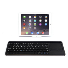 New Ultra-slim Mini Wireless Bluetooth Keyboard Mouse Touchpad For PC Ipad Laptop Tablet QJY99
