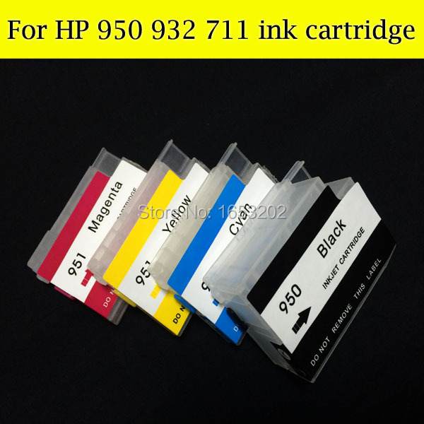HOT Sell For HP932 933 Refillable Ink Cartridge For HP 6100 6700 7610 7110 Printer With ARC Chips<br><br>Aliexpress
