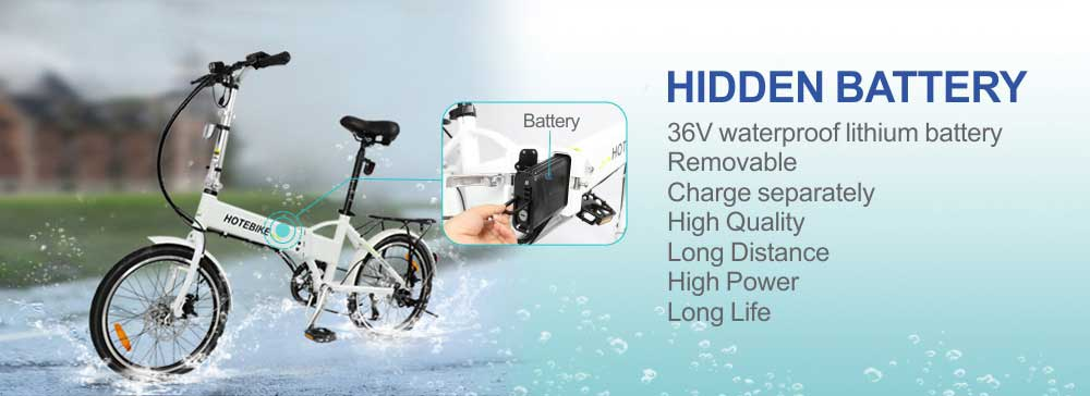 Sale free shipping 20 inch aluminum alloy frame best folding electric bike 3