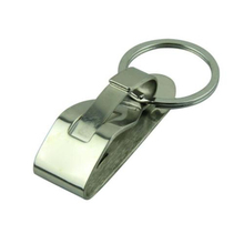 Essential 1 pc Heavy Duty Military Survivor Security Belt Clip Key Chain Key Ring For Ourdoor Camping Hiking