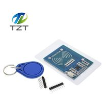 Free shipping 10pcs MFRC-522 RC522 RFID RF IC card sensor module to send S50 Fudan card,Rf module keychain for arduino(China)