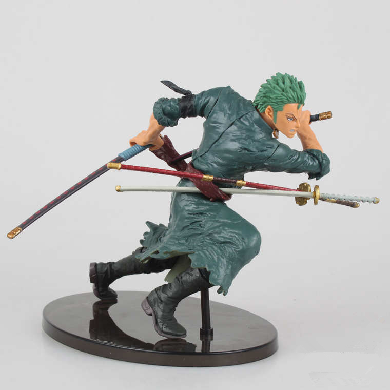 ONE PIECE Male Figma Japanese Anime Japan OP Toys Cartoon Comic Roronoa Zoro PVC Model POP Puppets Action &amp; Toy Figures GH360<br><br>Aliexpress