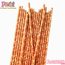 Free Shipping 300pcs Animal Printed zebra  giraffe cheetah cow leopard paw Paper Straws Safari Party Theme Drinking Goods Supply