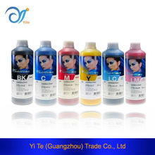 From CMYK 1000ml Inktec Sublinova Transfer Ink Fabric Dye Sublimation Ink for DX5 Print Head