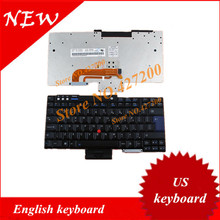 English keyboard FOR Lenovo ThinkPad T60 T61 R60 R61 Z60T Z61T Z60M Z61M R400 R500 T400 T500 W500 W700 W700ds US keyboard