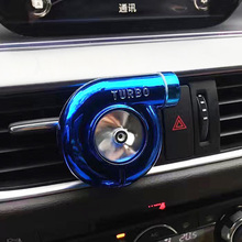 4 Colors Available Turbo Car Air Freshener Auto Air Vent Flavoring 100 Original Perfumes Car-styling Car Decoration Accessories(China)