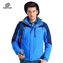 Quality Wolf Tec Top 3 In 1 Professional North Waterproof Rain Ski-Wear Mountain Hiking Jackets Men Power Sport Clothing Men