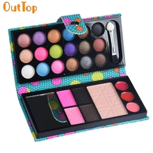 OutTop Beauty Fashion 1Box 26 Color Cosmetic Eye Shadow Makeup Palette Bag 160809 Drop Shipping