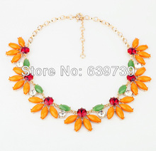 Countryside Orange Plastic Fine Queen Necklace